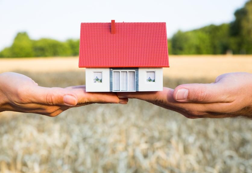 Immobilien-Übergabe