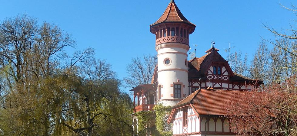 Kurparkschloss Herrsching, Ammersee